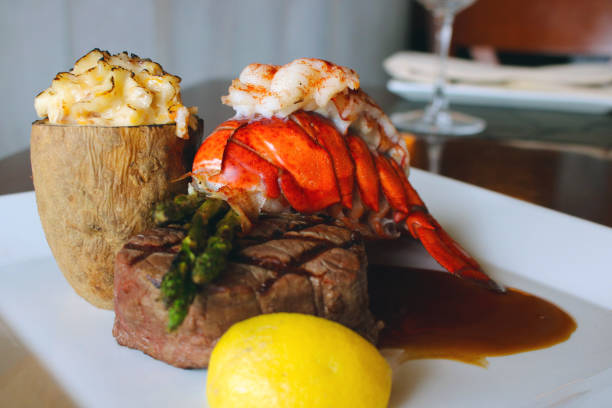 Steak And Lobster Stock Photos, Pictures & Royalty-Free ...