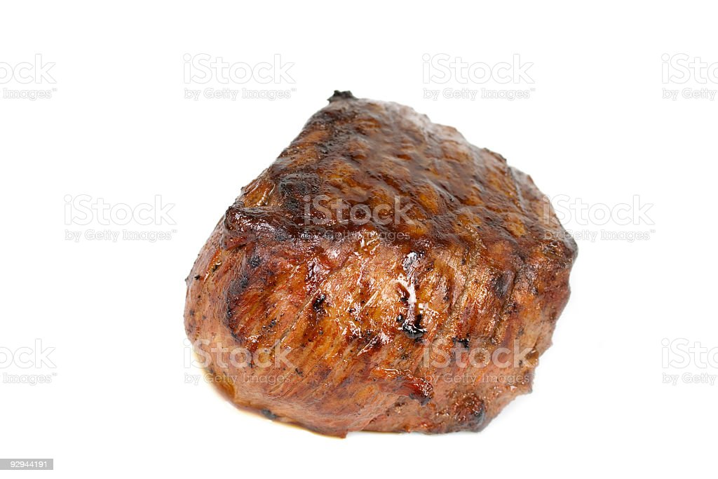 Steak dinner , Fillet Mignon- juicy grilled,isolated royalty-free stock photo
