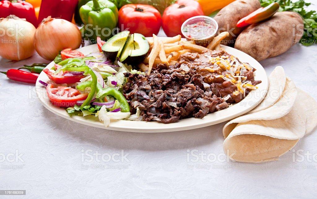 Steak Fajitas royalty-free stock photo