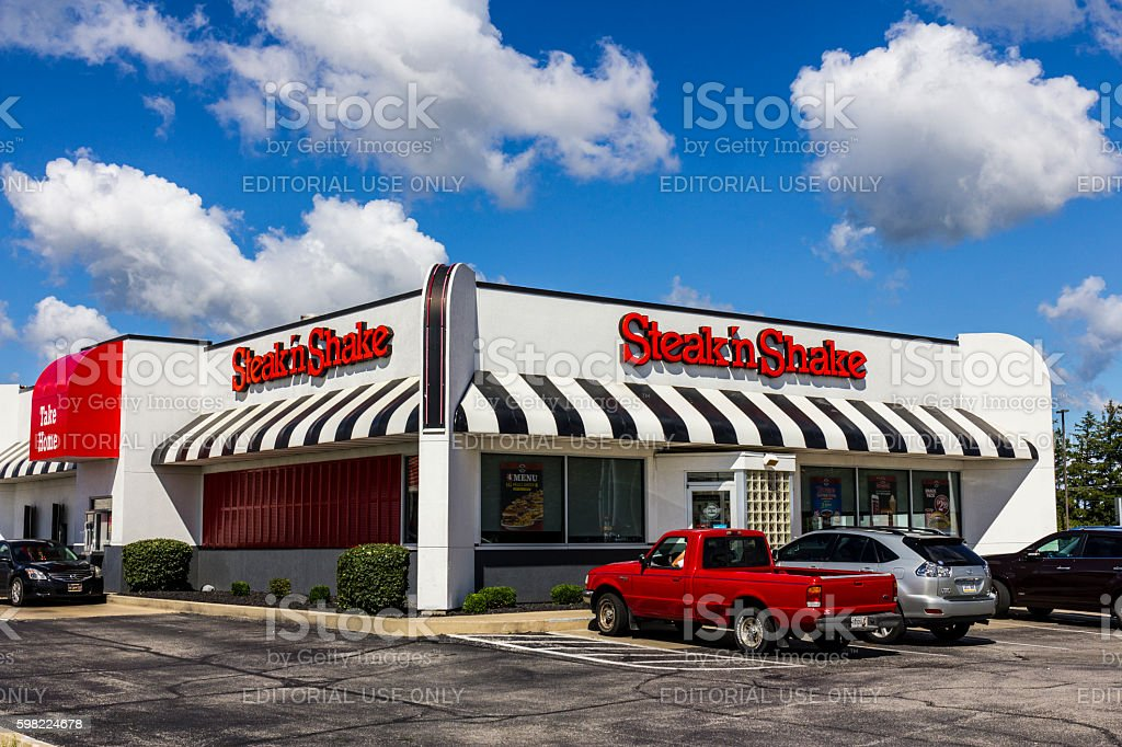 Steak 'n Shake Retail Fast Casual Restaurant Chain I foto royalty-free