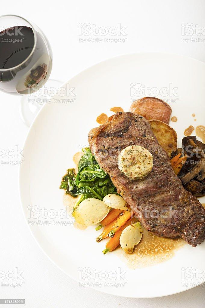NY Steak royalty-free stock photo