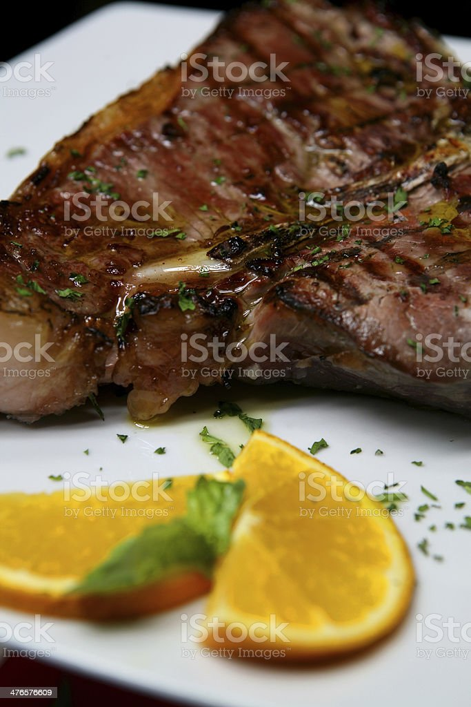 bistecca royalty-free stock photo