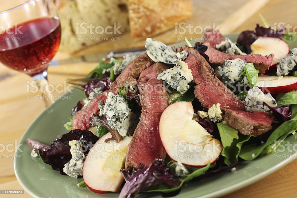 Steak Salad royalty-free stock photo