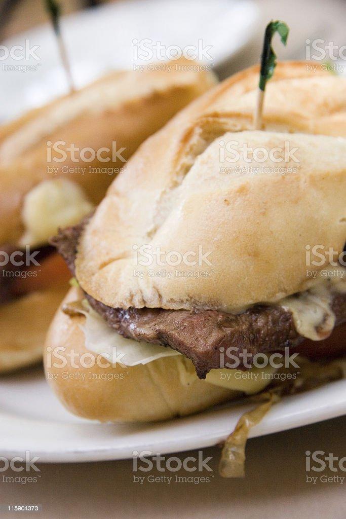 Steak Sandwich royalty-free stock photo