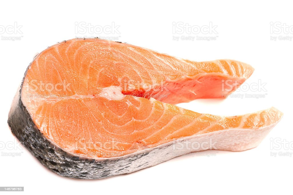 Steak trout royalty-free stock photo
