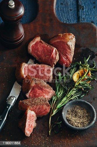 808351106istockphoto Steak with herb Steak with creamy mushroom sauce Steak with creamy mushroom sauce Steak with creamy mushroom sauce 1160011854