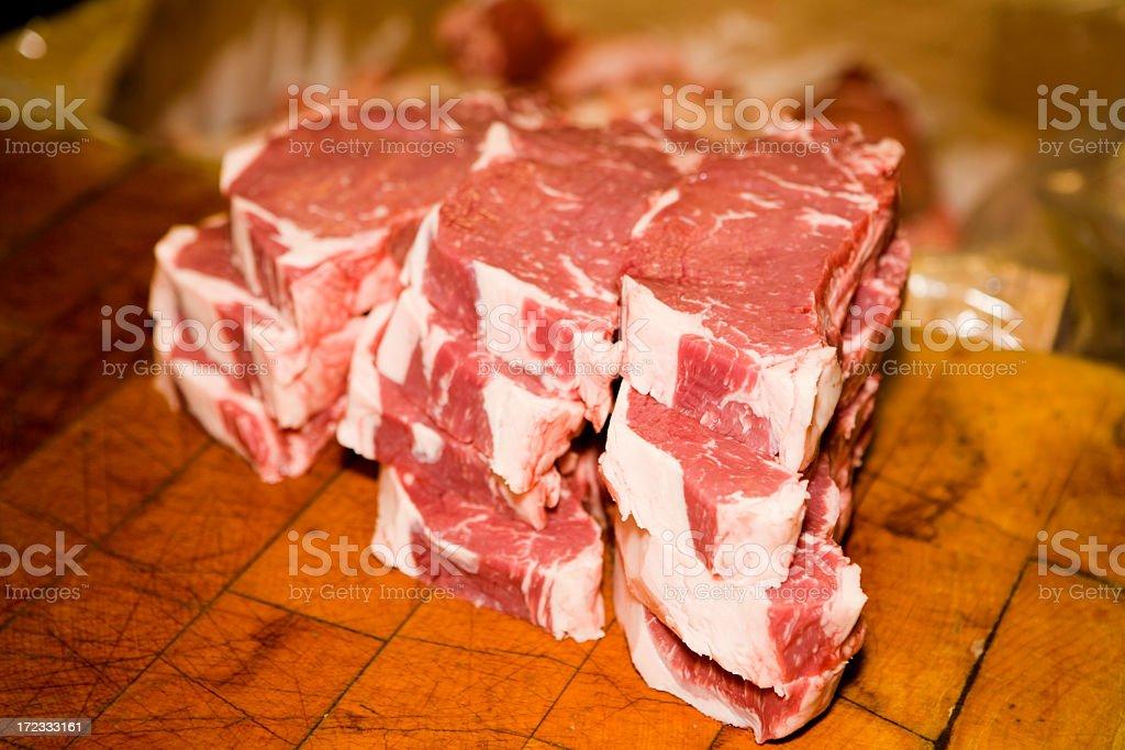 Steaks! royalty-free stock photo