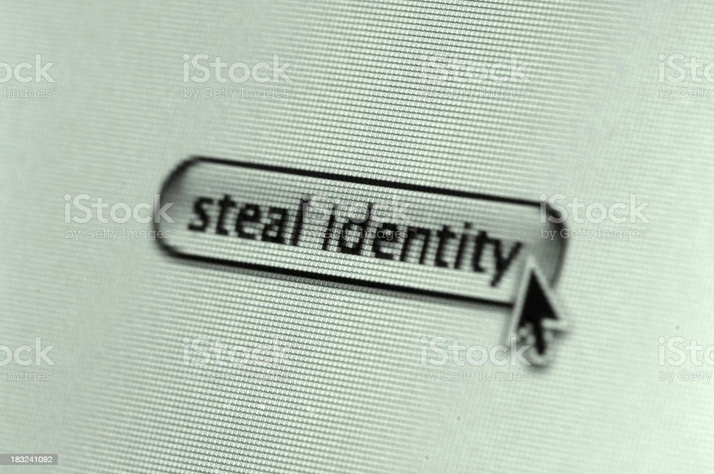 Steal Identity royalty-free stock photo