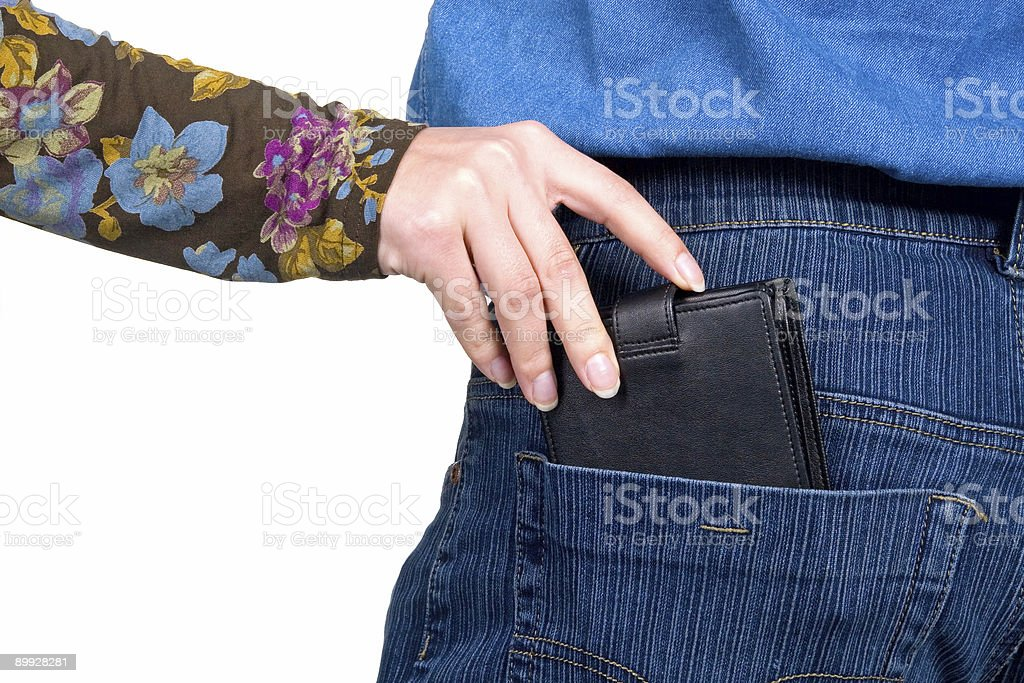 Stealing stock photo