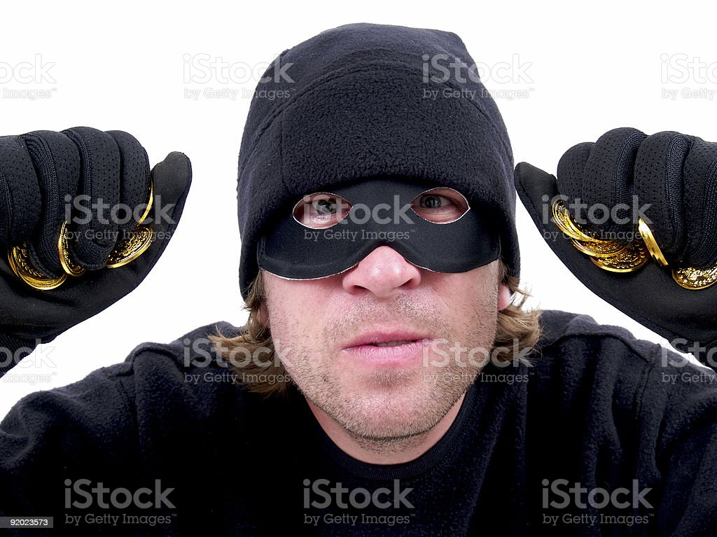 Stealing! royalty-free stock photo
