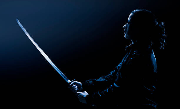 stealth agent - ninja krieger stock-fotos und bilder