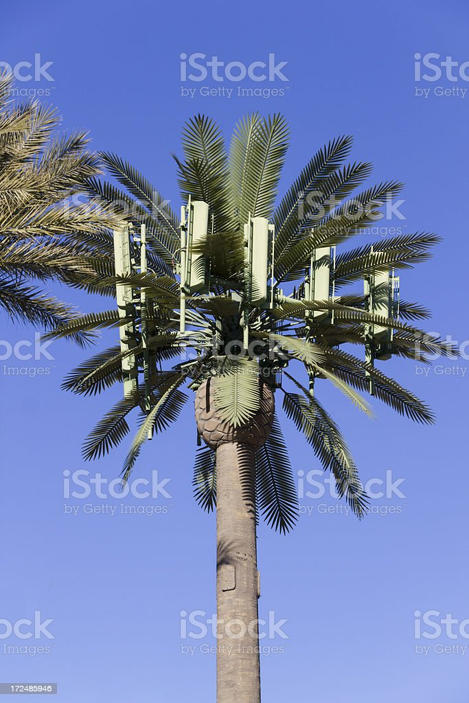 Stealth Cell Antenna royalty-free stock photo