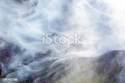 istock Steam, abstract background with copy space 1280637786
