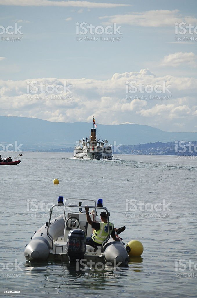 Para łodzie tyłu zbiór zdjęć royalty-free