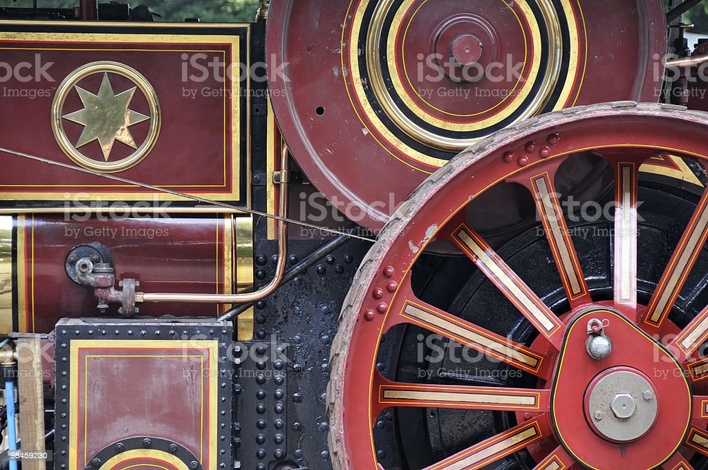 Steam Engine Detail royalty-free stock photo