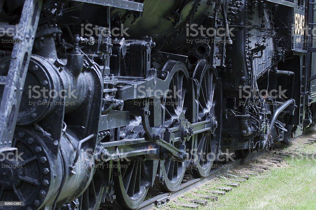 Steam engine royalty-free stock photo