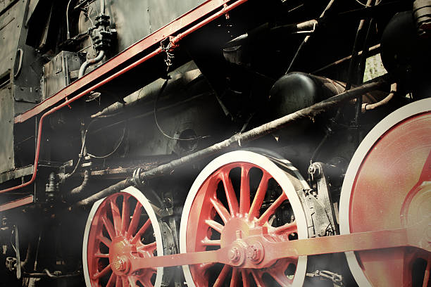 Steam Engine Train stock photo