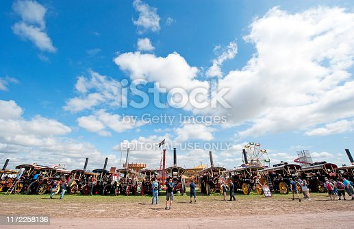 istock Steam Fair, England, UK 1172258136