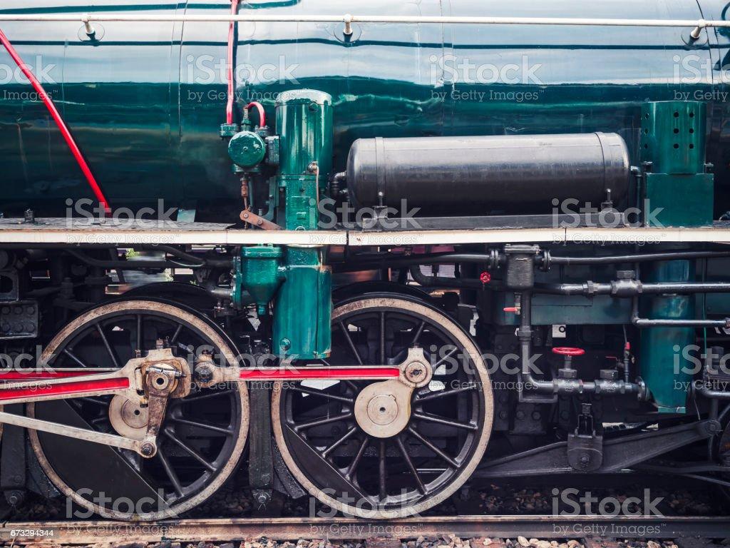 Steam Locomotive Wheel Engine Train Engine royalty-free stock photo