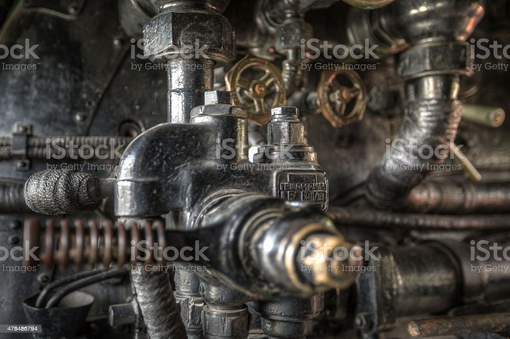 steam machine stock photo