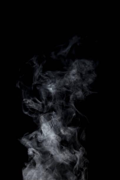 蒸気、合成写真の素材。 - 湯気 ストックフォトと画像