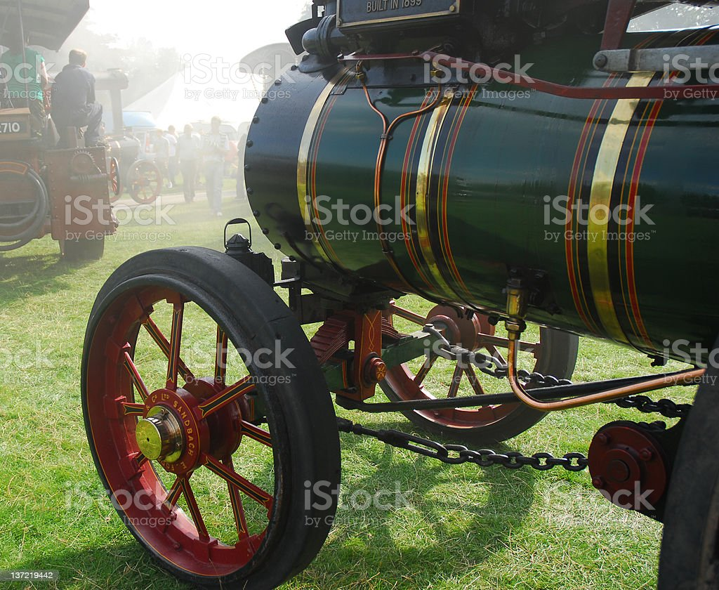 Steam Nostalgia royalty-free stock photo