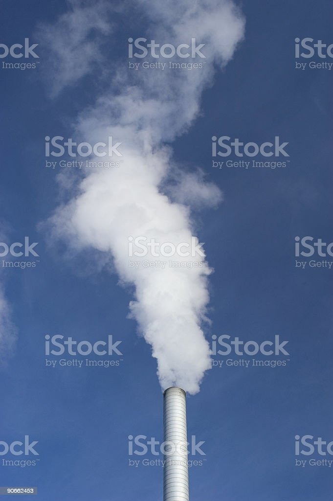 Steam Pipe 1 royalty-free stock photo