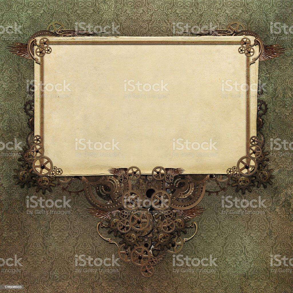 Steam Punk Background stock photo
