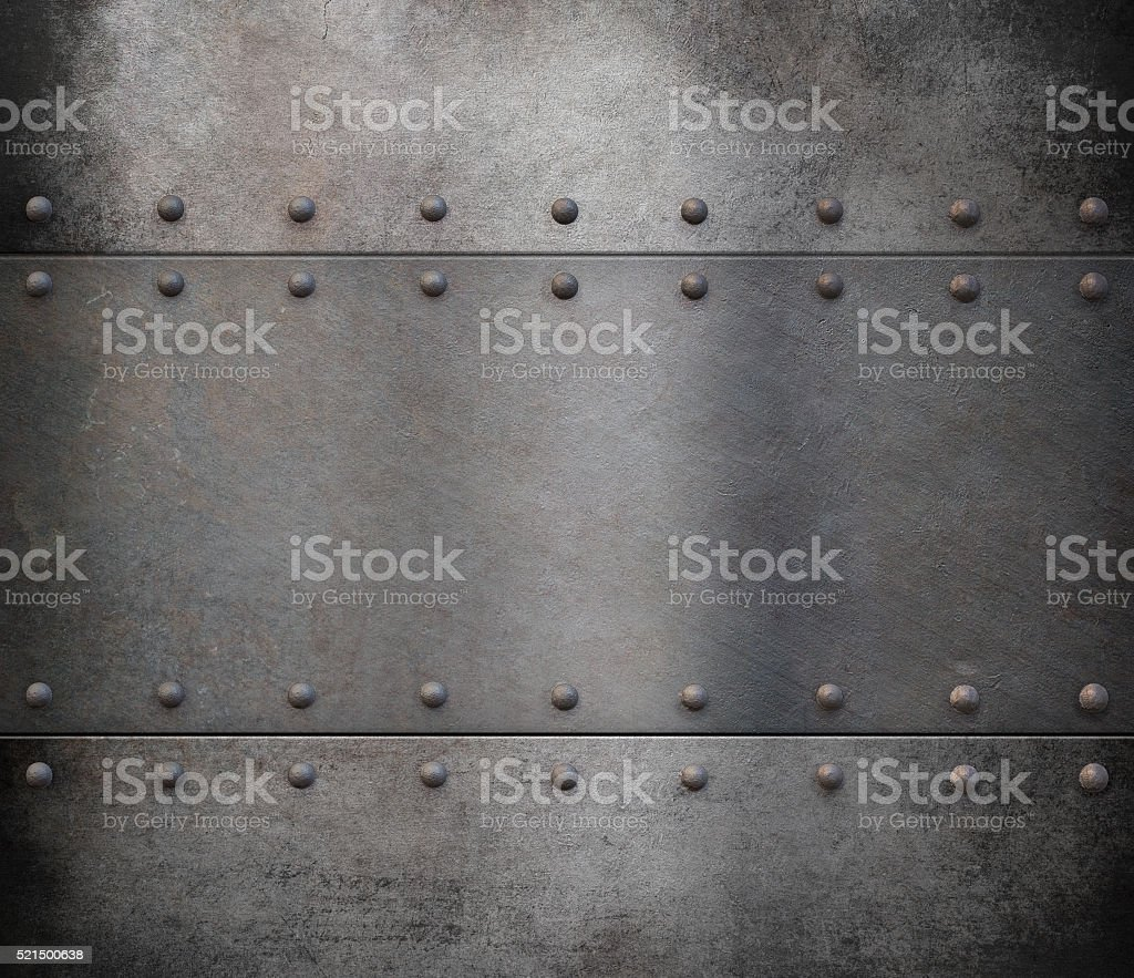 steam punk metal armour background stock photo