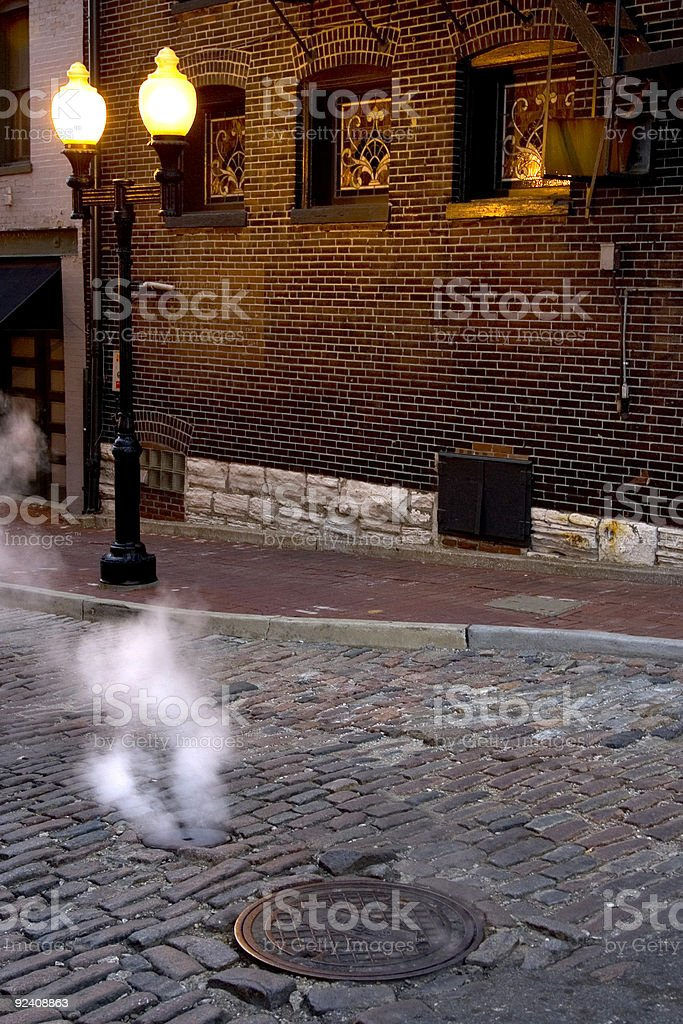 Steam Street 2 royalty-free stock photo