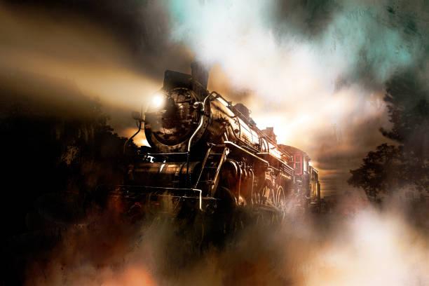 dampfzug - lokomotive stock-fotos und bilder