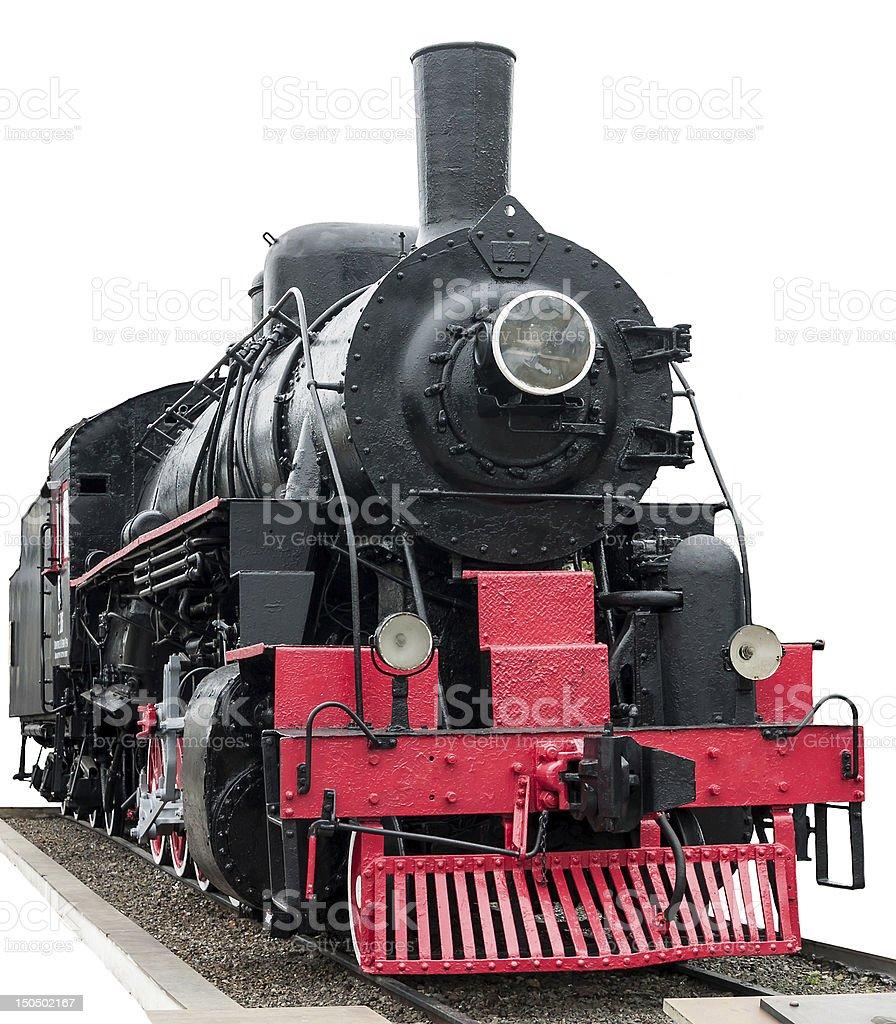 Steam train. stock photo