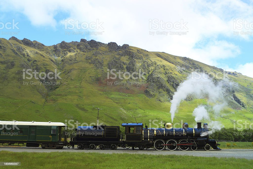 Steam train royalty-free stock photo