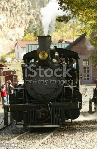 istock Steam Train 89960164