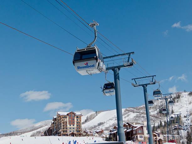 Steamboat, Colorado ski resort gondola