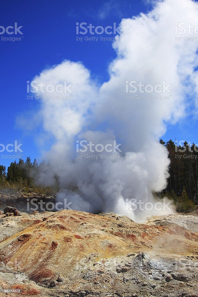 Steamboat Geyser royalty-free stock photo