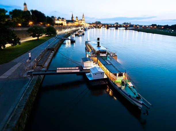 Steamboat in Dresden. – Foto