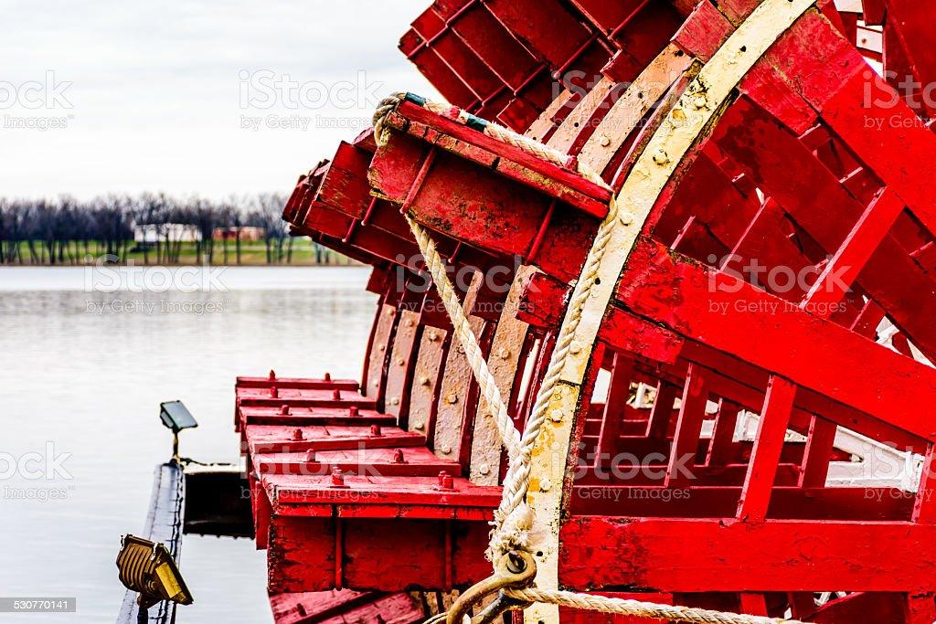 Steamboat Paddle stock photo