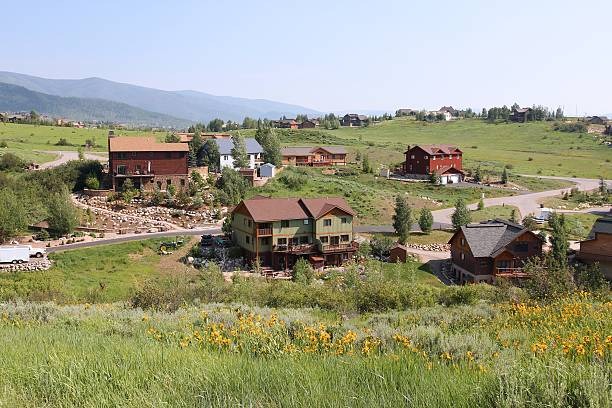 Steamboat Springs Steamboat Springs, town in Colorado, United States routt county stock pictures, royalty-free photos & images