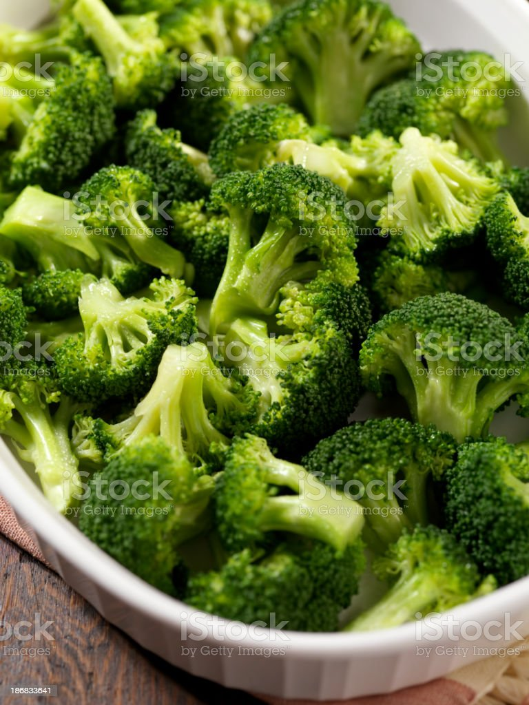 Steamed Broccoli royalty-free stock photo