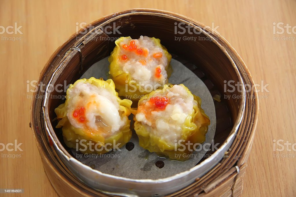 Steamed dimsum royalty-free stock photo