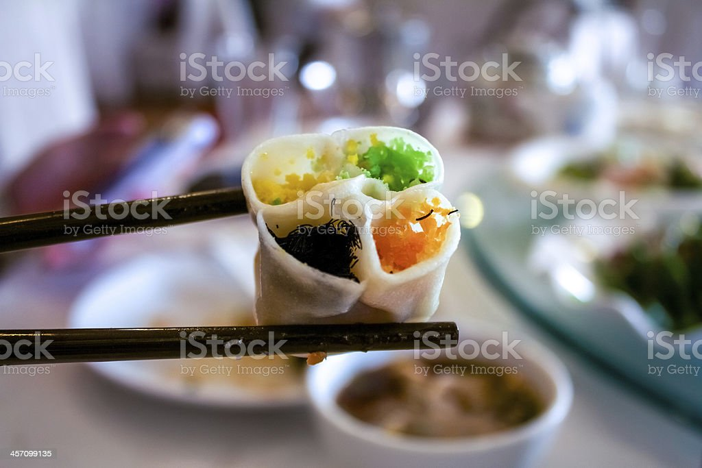 Steamed Dumplings ,Traditional Xian food ,China stock photo