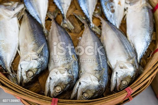 635931692 istock photo steamed mackerel in bamboo basket 637139992