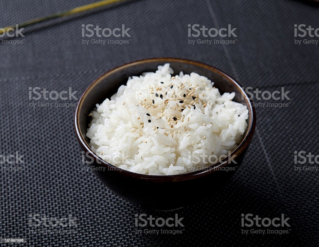 Steamed Rice royalty-free stock photo