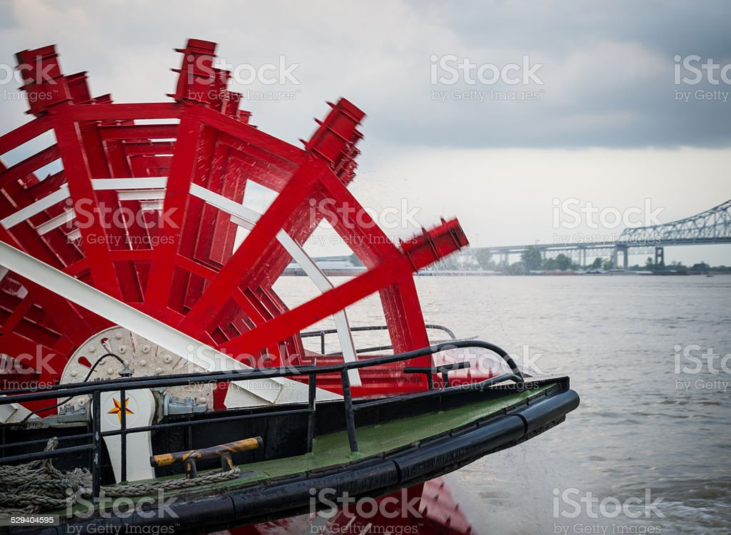 Steamer Paddle stock photo