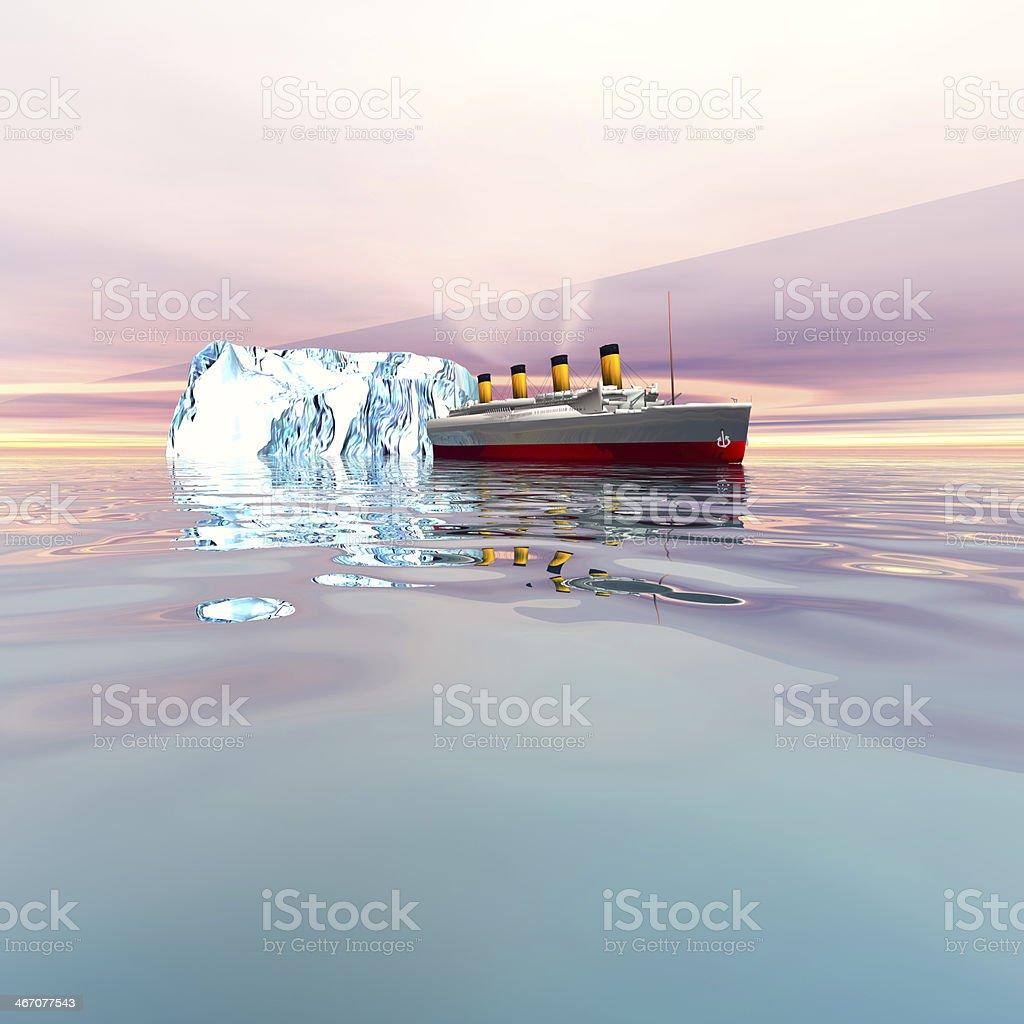 Steamer Ship stock photo