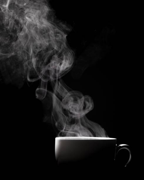 stomen koffie kopje - stoom stockfoto's en -beelden
