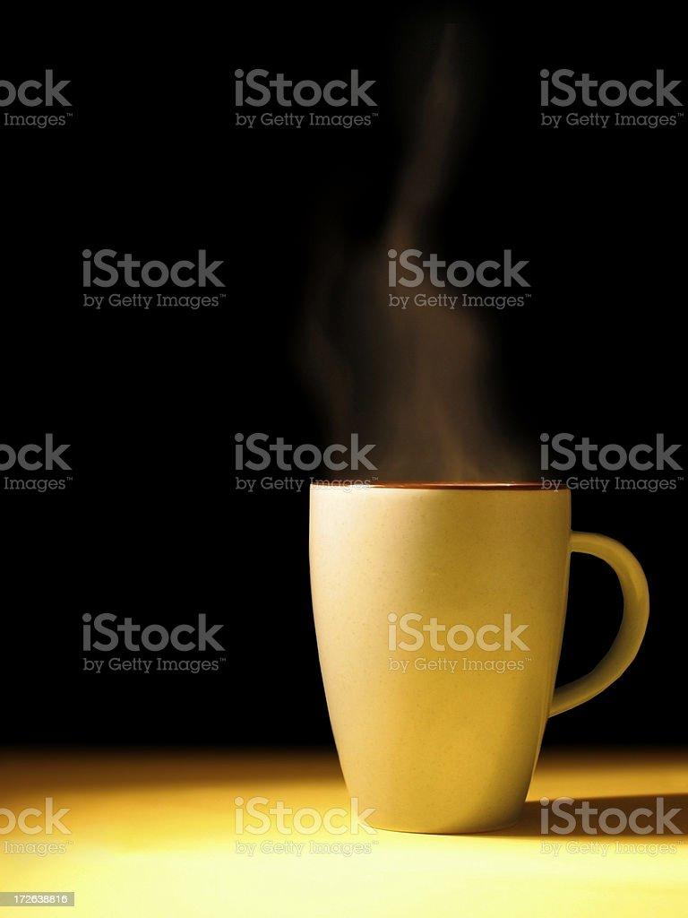 Steaming Mug royalty-free stock photo