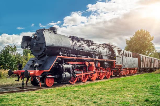 Steamlock auf einem Abstellgleis – Foto