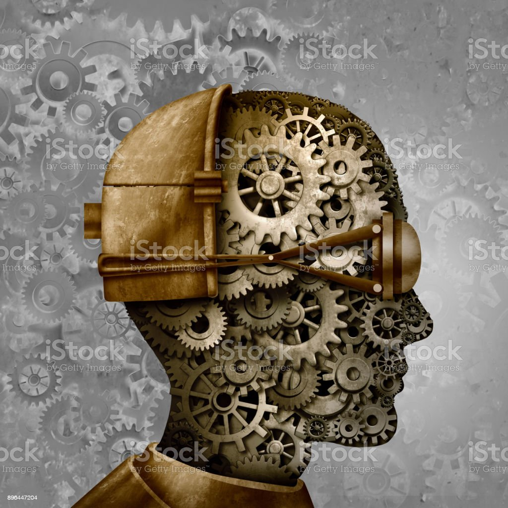 Steampunk And Steam Punk Head Stock Photo - Download Image Now - iStock